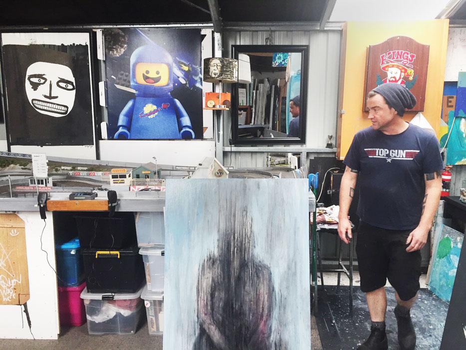 Greg Page Studio 2018